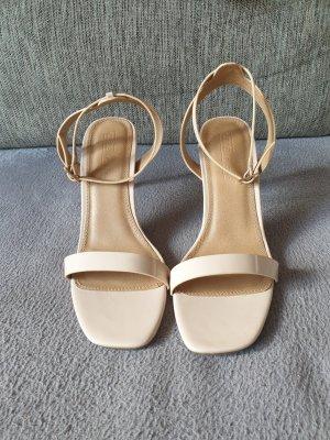 Asos Shoes Hoge hakken sandalen beige