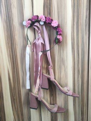 Sandalo comodo rosa chiaro