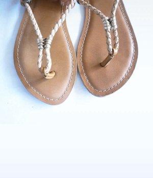 Sandalen hellbraun