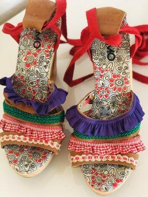 Sandalen hippie boho folklore Gr 39 Sommer