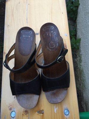 Sandalen Holz Sandalen