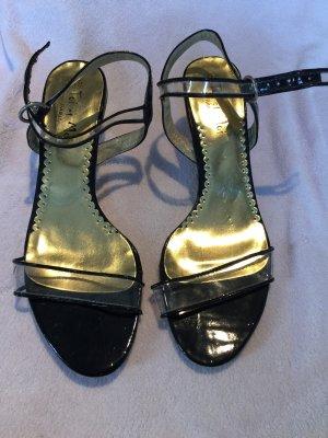 Toi & Moi Sandalias de tiras color oro-negro