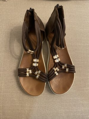 Inuovo Beach Sandals brown