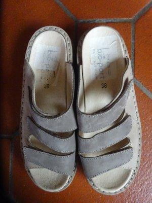 Comfort Sandals grey brown-beige