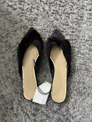Sandalen latschen neu samt