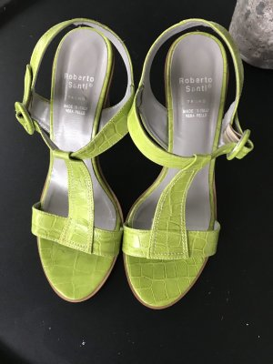 Roberto Santi Dianette Sandals meadow green