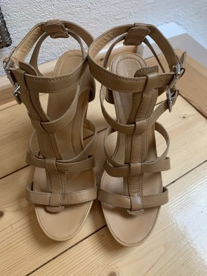 Marco Polo Strapped High-Heeled Sandals beige-nude
