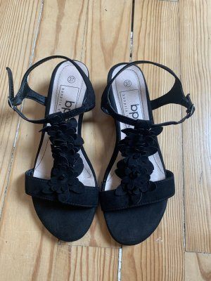 Bon Brix Sandały z rzemykami czarny