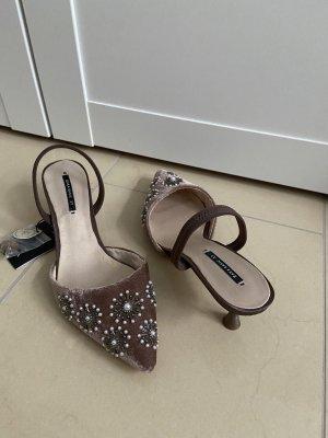 Sandalen mit Absatz, 37, Zara