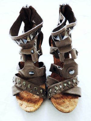 Graceland Strapped High-Heeled Sandals multicolored