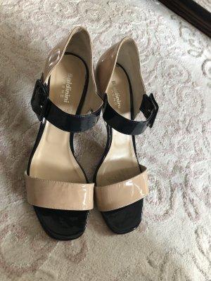 Baldinini Outdoor Sandals beige-black