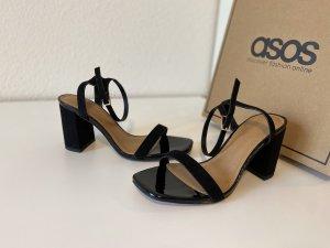 Sandalen mit Blockabsatz breite Passform Wide fit