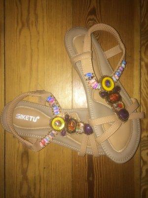 Comfort Sandals light brown