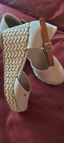 Tommy Hilfiger Espadrille sandalen room-beige