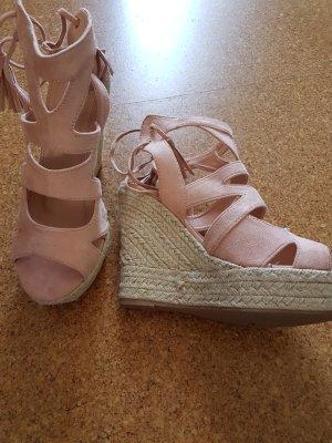 Platform Sandals light pink