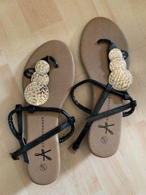 Sandalen mit Mini Keilabsatz