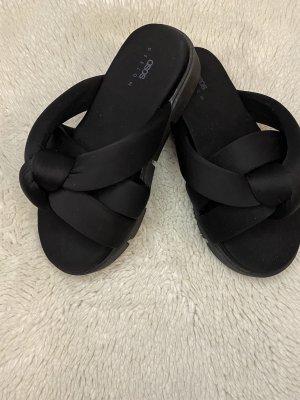 Asos Shoes Platform Sandals black