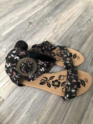 Sandalen mit Reißverschluss hinten modern schick gr.37