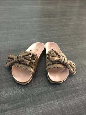 Esprit Sandały japonki w kolorze różowego złota-szaro-brązowy