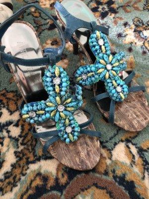 Comfort Sandals baby blue-pale blue