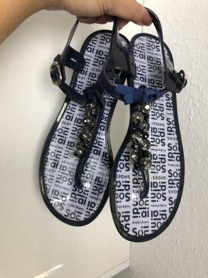 Dianette sandalen donkerblauw