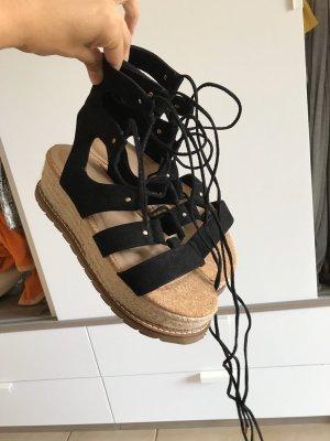 Asos Sandalo romano beige-nero