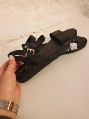Sandalen Neu schwarz von Gina Gr. 40