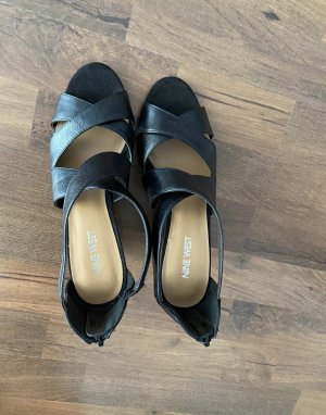 Nine west Platform Sandals black