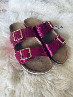 Colours of California Flip-Flop Sandals pink