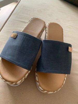 Sandały outdoor niebieski