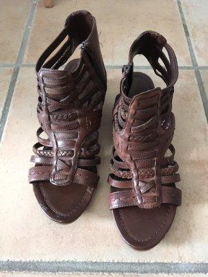 Romeinse sandalen bruin