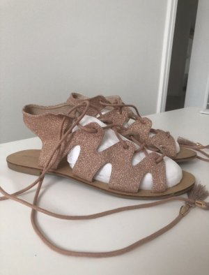 Pimkie Beach Sandals rose-gold-coloured