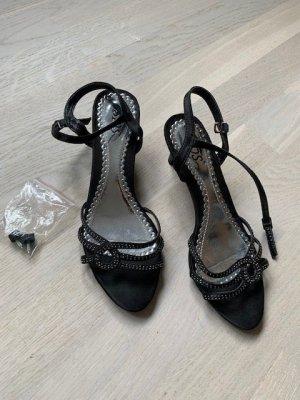 Sandalen Sandaletten Gr. 38 schwarz neu
