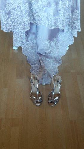 Sandalen Sandaletten High Heels Riemchen T-Steg