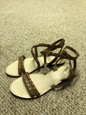 Massimo Dutti Outdoor Sandals brown