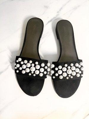 Catwalk Sandalias cómodas negro-blanco