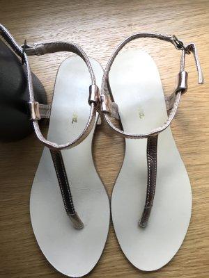 Sandalen Sandaletten Roségold