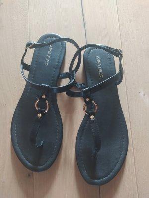 Anna Field Dianette sandalen zwart-goud
