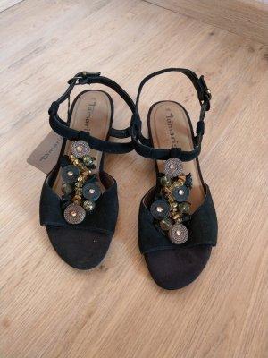 Tamaris Strapped Sandals black