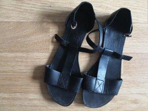 Vagabond T-Strap Sandals black-anthracite