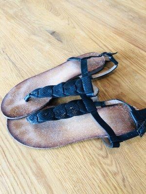 Blue Motion Flip flop sandalen zwart