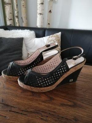 Sandalen schwarz Gr. 41