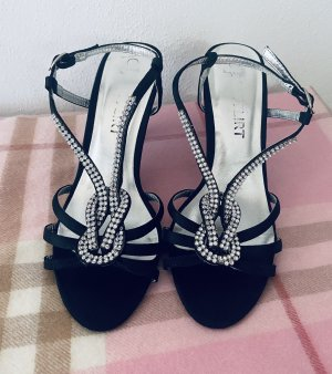Bon Prix Sandalen met bandjes zwart