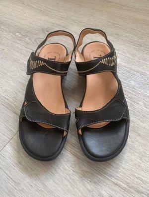 Sandalen schwarz von Think! in Gr. 39 *neuwertig*