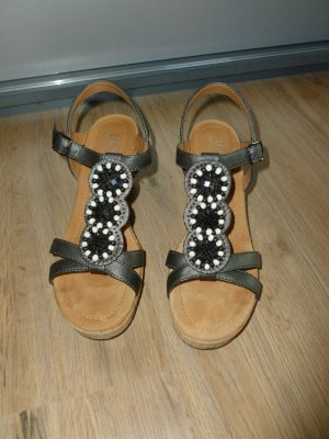 Sandalen silber braun Jenny by ara Neu