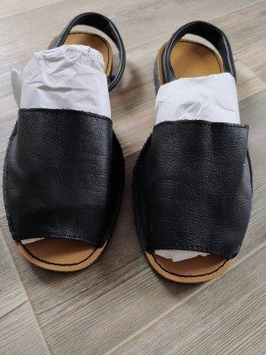 AVARCA MENORQUINA Espadrille Sandals black