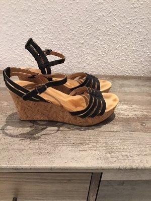 UGG Australia Outdoor sandalen zwart Leer