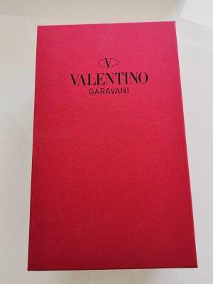 Valentino Garavani Sandały japonki z rzemykami czarny-złoto