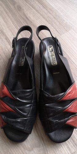 Remonte Comfort Sandals black-dark red