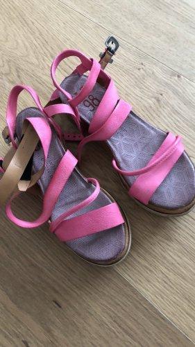 A.S.98 Sandalias de tiras rosa
